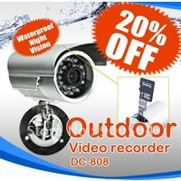 Hot  HOT Sell Waterproof Motion Detection 7days x 24hrs Outdoor Security CCTV DVR Camera