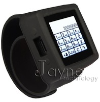 FREE SHIPPING! 2013 New! The first 1.3MP camera MQ666A watch phone watch band removable good quality black