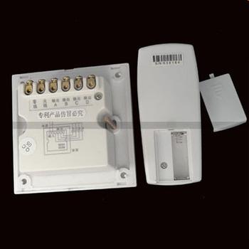 New 100% High Quality 4 Port Digital Wireless Remote Control Wall Switch + Remote rack