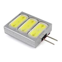 Retail Led G4 Bi-Pin 3 COB 12V DC Led Light