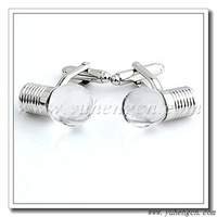 Free Shipping! YH-876A Light Bulb Novelty Cufflinks with Transparent Glass-Factory Direct Selling