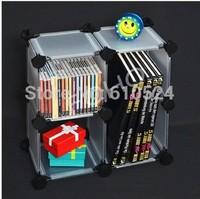 PP DIY Storge Cabinet ,shoe rack,foldable frosted pp cabinet