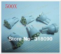 Hot sale & Hot Price!!! 500pcs/lot T10 194 168 1206 8 SMD 8LED Parking LED light Bulbs Wedge Light Bulb Interior Light White