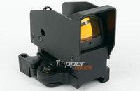 Docter 1x22 Airsoft QD Auto Brightness Sensitive Control Red Dot Sight Reflex Scope with QD High Mount, HD-600 w/ QD High Mount
