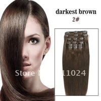 Free shipping wholesale and retail 20 inch 7 pcs queen virgin brazilian hair weave products with competitive