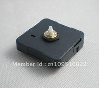 Free shipping 5pcs/lot Quartz Clock Movement Kit Spindle Mechanism shaft 12mm with hands