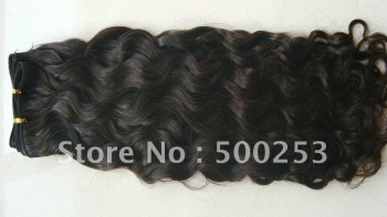 Loose  Curl  Natural Color Cambodian Hair Weft