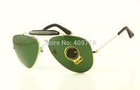 New Style Fashion Sunglass Men's/Women's Designer 3422Q Craft Outdoorsman II Gold Sunglass Brown Gradient Lens 58mm Box