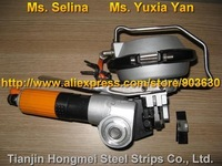 A480/KZ-19 Pneumatic Combination Steel Strapping Tool, Steel Banding Machine Packing Strapping Tensioner for 19mm Steel Strip