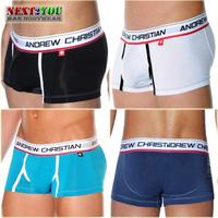 Free Shipping!!-4 PCS/LOT AC Modal Boxer/Mens Boxer /Men's Boxer Shorts/4 Colors (N-299)
