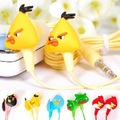 2012 hot selling,100% Guaranteed Free shipping 10pcs/lot,the very lovely 3.5mm cartoon in-ear earphone/headphone