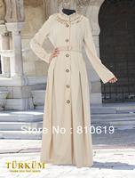 Islamic TURKISH Women's JILBAB , Coat TK-280  Series(MOQ: 5 Pieces) ,(Abaya , Jilbab, muslim woman's cloth )