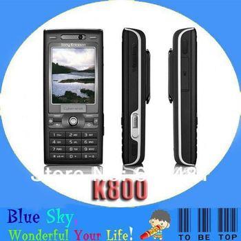 Cheap 3G original phones Sony Ericsson K800 K800i Singapore post free shipping