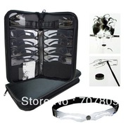 Free shipping 1 case 8different model of Perfect eyebrow stencil Kit-designing eyebrow tool