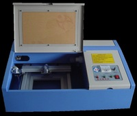 Laser Stamp Making Machine with 40*40cm working area