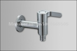 Free shipping Brass cartridge single hot/cold wash machine tap wholesale & retail(China (Mainland))