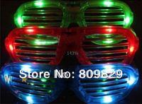 2012 new arrival 20pcs/ lot LED Flash Glasses Decorative Glasses Light Shutter Glasses Super Nice Wholesale And Freeshipping