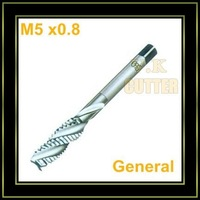 M5 *0.8 General spiral fluted tap,10pcs/parcel,TOSG brand,for blind holes ,wholesale and free shipping to all country