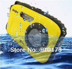 B168 Camera waterproof digital video camera,2.7&quot; TFT screen,5mp underwater 9 mega 8x zoom digital camera(China (Mainland))