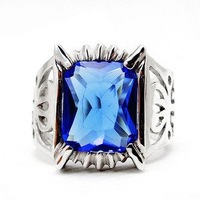 Free Shipping - Black Butler Sebastian Ciel Silver Ring Anime Cospaly Costume Jewelry