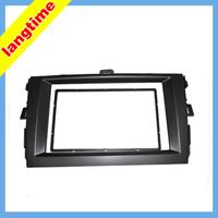 Car refitting DVD frame,DVD panel,Dash Kit,Fascia,Radio Frame,Audio frame for 08-10 Toyota Corolla, 2 DIN