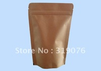 Factory sale wholesale 150*230mm 100pcs/lots anti-moisture kraft doypack packaging bags,kraft aluminum drink packaging bags