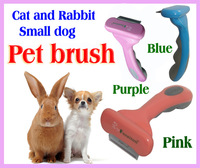 "NEW Fasaiton Pet Grooming tool -  1.8""  inch for small dogs or cats ,  Pet brush,  pink color"