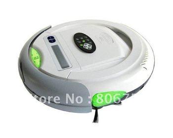 Cleanmate QQ-2L, Vacuum Robot Carpet Cleaner (Auto Vacuum,Sterilize,Air Flavor),LCD Screen,intelligent dust cleaner