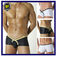 Free shipping!! 2014  high quality men's underwear ,low rise boxer, sexy boxer short  (N-216)