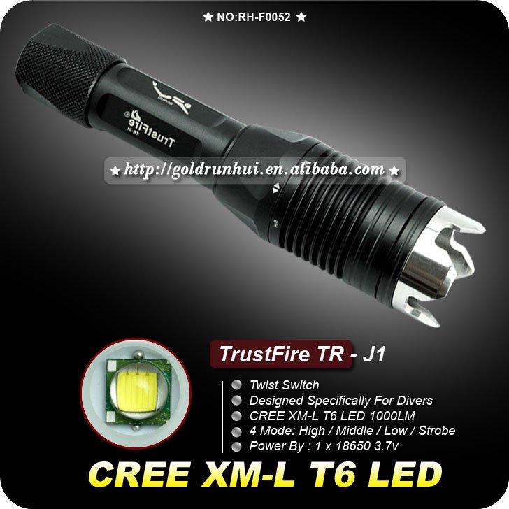 Светодиодные фонарики TrustFire TR-j1