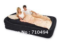 Free DHL Shipping INTEX 66974 California king size air bed with intex electric pump, INTEX 2 in 1 air mattress kit