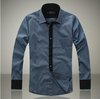 Big size Free Shipping New Mens Casual Slim Fit Stylish Dress Shirts,shirts for men size S/M/L/XL/XXL/XXXL/XXXXL