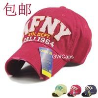 Mix Order retail-B072 AFNY Worn High Quality Cotton Korea Style fashion women and men snapback hat/Baseball cap free shipping