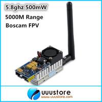 FPV Tx Boscam TS352 5.8G 500mW Video Audio Transmitter 4KM Tx for DJI Phantom gopro hero3