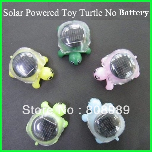 Wholesale !150pcs/lot Solar Tortoise Toy Mini Solar Turtle Educational Novlty Gift Crawl Solar Energy Toy Free shipping(China (Mainland))
