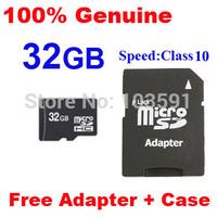 FREE shipping Full 32GB micro sd card class 6 TF memory card with 32 gb MicroSD Flash