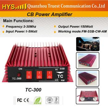 3-30Mhz CB Transceiver Power Amplifier +FM- AM-CW-SSB TC-300