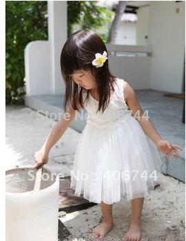 2014 hot sell ! Wholesale girls flower dress,girls summer  clothing,AL129