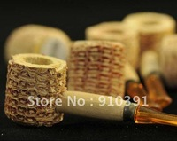 FREE SHIPPING/EMS,mini naturel corn cob tobacco pipe as healthy smoke cigarette filter,eco-friendly plant smoking set!