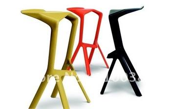 FREE SHIPPING +Konstantin Grcic Miuru Barstool +Color(White,Black,Red)+Home Furniture