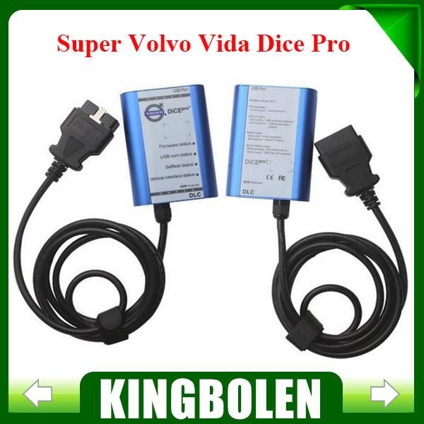 2015 Newest Version Professional Powerful Interface Volvo Vida Dice 2013A version Super Volvo Dice Pro+(China (Mainland))