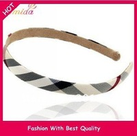 Wholesale and Retail fashion freeshipping & charming strip star's brand headband 1.2cm hairband 24pc/lot