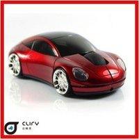 hot selling 2.4G Wireless car  mouse+ 50pcs/lot