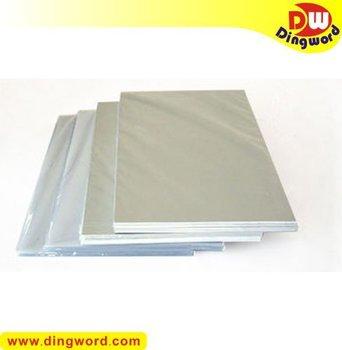 Inkjet printable PVC sheets 100pcs, white color, 0.76mm thick. PVC card making supplies. Graphic art supplies.