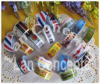 Free shipping DIY Decorative Sticker Cartoon Masking Adhesive Tape for Scrapbooking -  60 rolls/lot free shipping