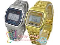 New version Fashion watch wristwatch CA159 ca159 silver & gold Top brand classic CA-159 Retro LED watch free shipping 8pcs/lot