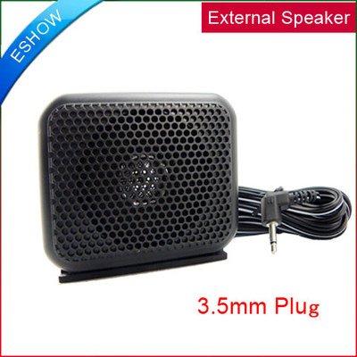 CB Ham Radios Mini External Speaker NSP-100 For Kenwood Motorola ICOM Yaesu Walkie talkie J0076A Eshow(China (Mainland))