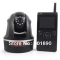 2.4GHz Digital Wireless Baby Monitor video camera secure signal night vision New,Free Shipping,Wholesale #110020