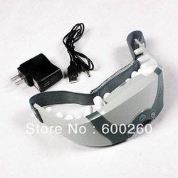 Mask Migraine DC Electric Care Forehead Eye Massager , Free Shipping 8468(China (Mainland))