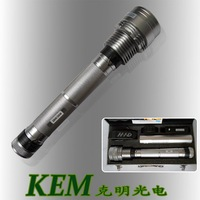 Ultra Bright 85W 7800mah 8500 Lumens Rechargeable HID Xenon Torch Flashlight  EMS free shipping